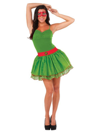 Tmnt Raphael Tutu Skirt - Size Std-Costumes - Women-Jokers Costume Hire and Sales Mega Store