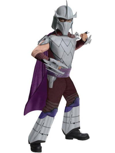 Tmnt Shredder Deluxe - Size S-Costumes - Boys-Jokers Costume Hire and Sales Mega Store