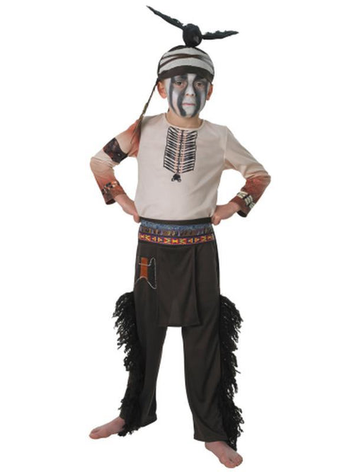Tonto Child - Size 3-4-Costumes - Boys-Jokers Costume Hire and Sales Mega Store