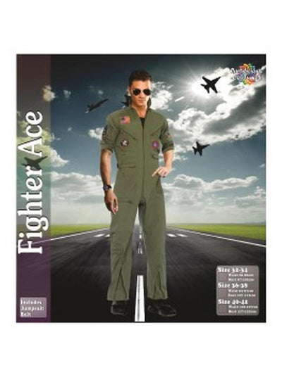 Top Gun Pilot-Costumes - Mens-Jokers Costume Hire and Sales Mega Store