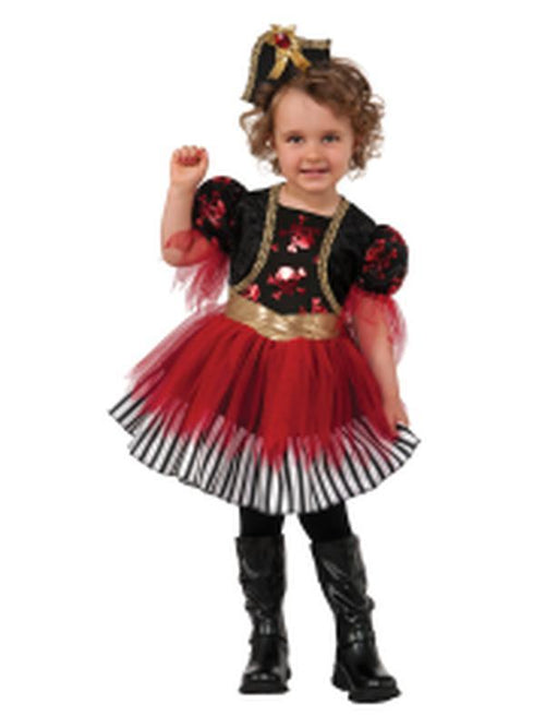 Treasure Island Pirate Child Costume - Size T-Costumes - Girls-Jokers Costume Hire and Sales Mega Store