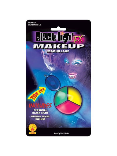 Tri-Colour Make Up.-Make up and Special FX-Jokers Costume Hire and Sales Mega Store