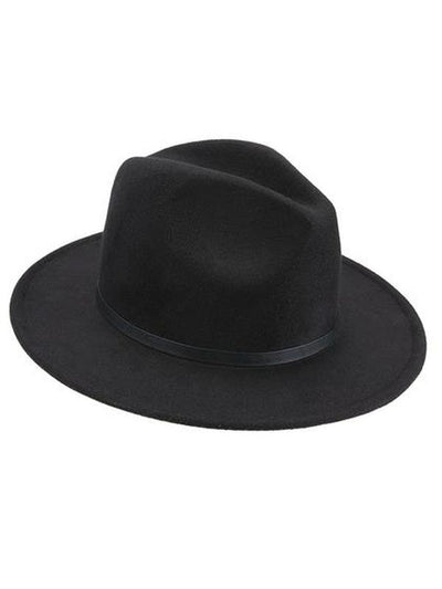 Trilby Hat - Black-Hats and Headwear-Jokers Costume Mega Store