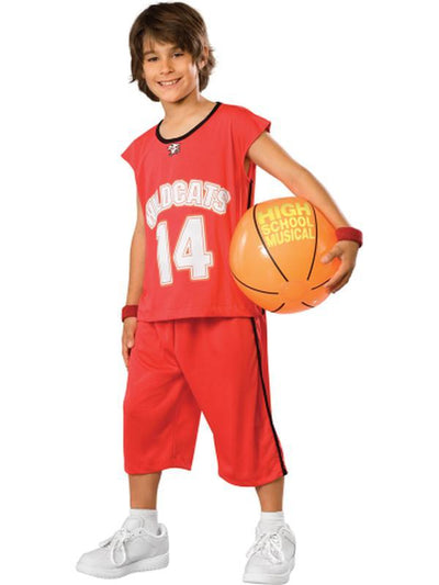 Troy Basketball Set - Size M-Costumes - Boys-Jokers Costume Hire and Sales Mega Store