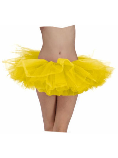Tutu Yellow Adult-Costumes - Women-Jokers Costume Hire and Sales Mega Store