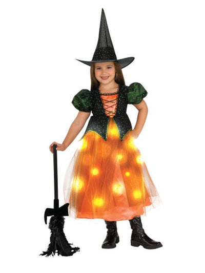 Twinkle Witch - Size M-Costumes - Girls-Jokers Costume Hire and Sales Mega Store