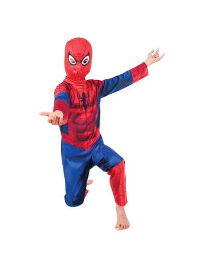 Ultimate Spider-Man - Size 3-5-Costumes - Boys-Jokers Costume Hire and Sales Mega Store