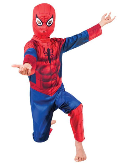 Ultimate Spider-Man Size 6-8-Costumes - Boys-Jokers Costume Hire and Sales Mega Store