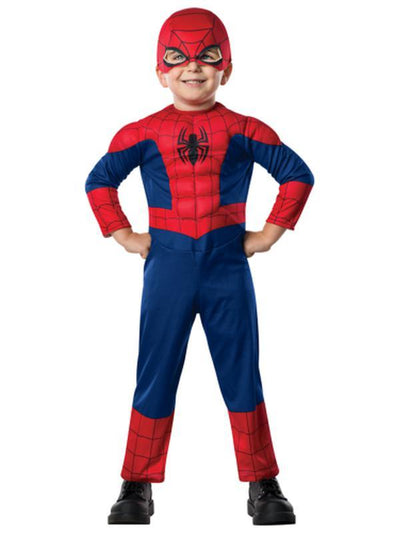 Ultimate Spider-Man - Size Toddler-Costumes - Boys-Jokers Costume Hire and Sales Mega Store
