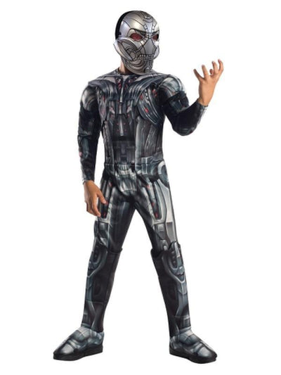 Ultron Aaou Deluxe Costume - Size 6-8-Costumes - Boys-Jokers Costume Hire and Sales Mega Store