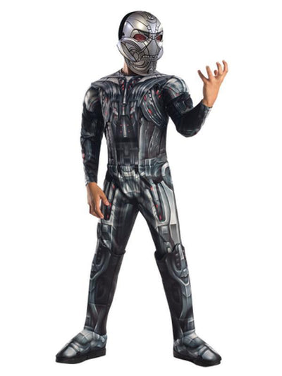 Ultron Aaou Deluxe Costume - Size M-Costumes - Boys-Jokers Costume Hire and Sales Mega Store