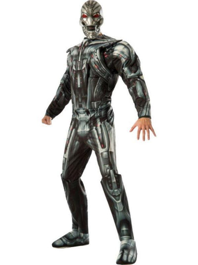 Ultron Avengers 2 Deluxe - Size Std-Costumes - Mens-Jokers Costume Hire and Sales Mega Store