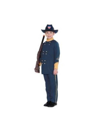 Union Officer Child Costume-Costumes - Boys-Jokers Costume Hire and Sales Mega Store