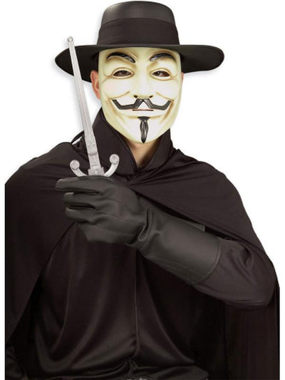 V For Vendetta Costume Kit - Size Std-Costumes - Mens-Jokers Costume Hire and Sales Mega Store
