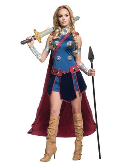 Valkyrie Secret Wishes - Size L-Costumes - Women-Jokers Costume Hire and Sales Mega Store