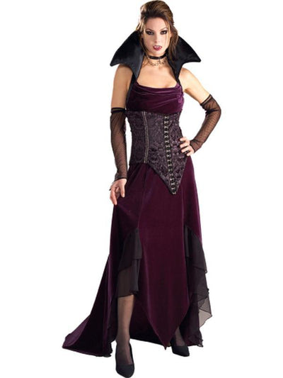 Vampira Collector'S Edition - Size S-Costumes - Women-Jokers Costume Hire and Sales Mega Store