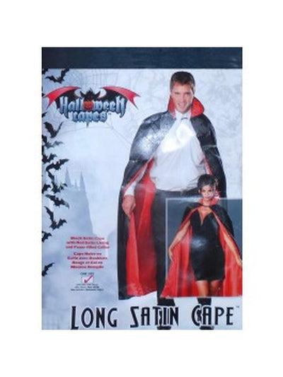 Vampire Cape - Last in Range-Costumes - Mens-Jokers Costume Hire and Sales Mega Store