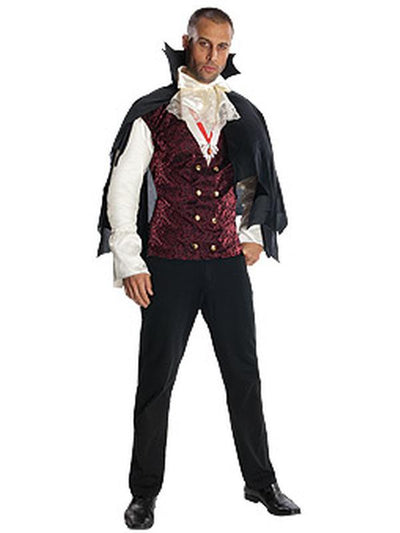 Vampire Deluxe Costume - Size Xl-Costumes - Mens-Jokers Costume Hire and Sales Mega Store