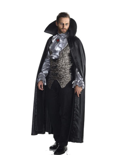 Vampire Grey Collector'S Edition - Size Xl-Costumes - Mens-Jokers Costume Hire and Sales Mega Store