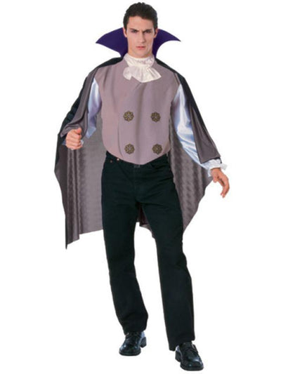 Vampire - Size Std-Costumes - Mens-Jokers Costume Hire and Sales Mega Store
