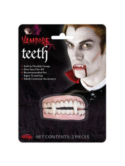 Vampire Teeth Set-Teeth-Jokers Costume Hire and Sales Mega Store