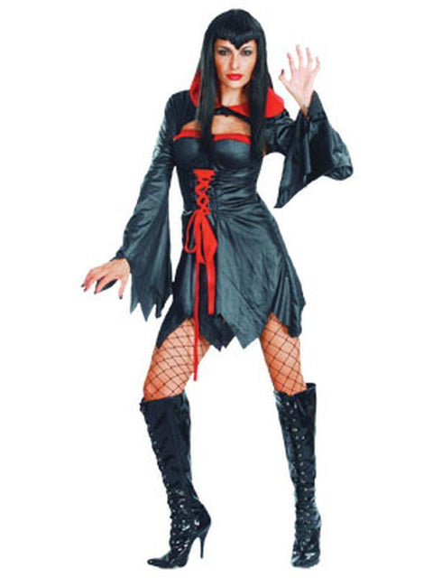 Vampiress - Adult - Medium-Costumes - Women-Jokers Costume Hire and Sales Mega Store