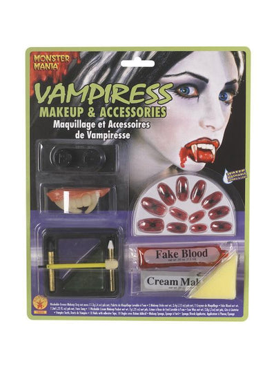 Vampiress Make Up Kit-Halloween Makeup & Special FX-Jokers Costume Hire and Sales Mega Store