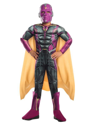 Vision Deluxe Costume - Size L-Costumes - Boys-Jokers Costume Hire and Sales Mega Store