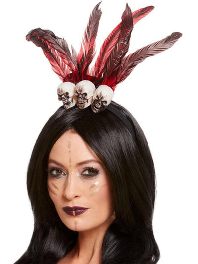 Voodoo Headband-Hats and Headwear-Jokers Costume Hire and Sales Mega Store