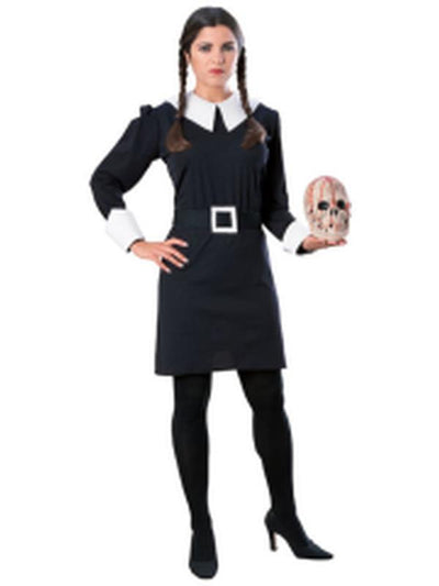 Wednesday Addam'S Costume - Size M-Costumes - Women-Jokers Costume Hire and Sales Mega Store