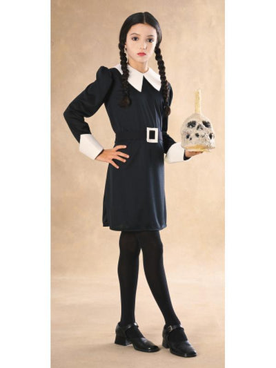 Wednesday Addam'S Costume - Size M.-Costumes - Girls-Jokers Costume Hire and Sales Mega Store