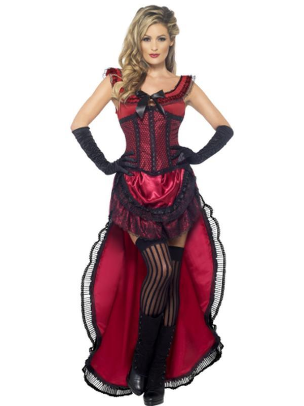 Western Authentic Brothel Babe Costume-Costumes - Women-Jokers Costume Hire and Sales Mega Store