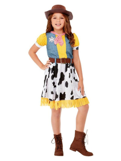 Western Cowgirl Costume-Costumes - Girls-Jokers Costume Mega Store