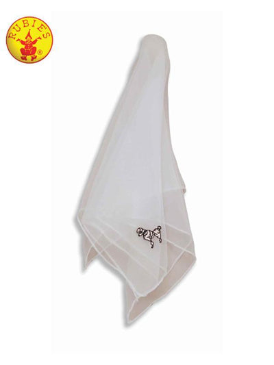 WHITE POODLE SCARF-Costumes - Women-Jokers Costume Hire and Sales Mega Store