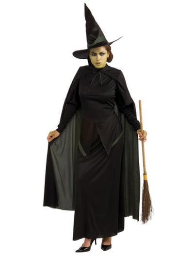 Wicked Witch Adult- Size Std (As 887379Std)-Costumes - Women-Jokers Costume Hire and Sales Mega Store