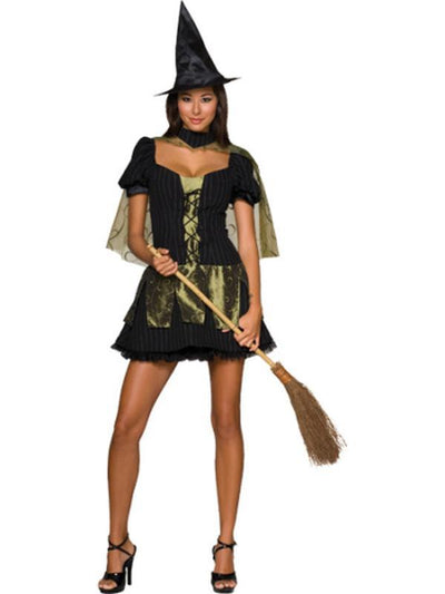 Wicked Witch Of The West Secret Wishes - Size S-Costumes - Women-Jokers Costume Hire and Sales Mega Store