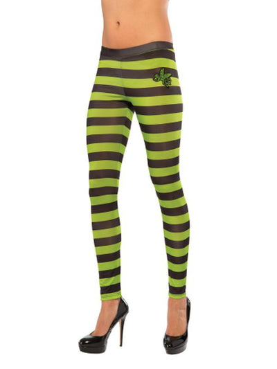 Wicked Witch Of The West Striped Leggings-Leg Wear-Jokers Costume Hire and Sales Mega Store