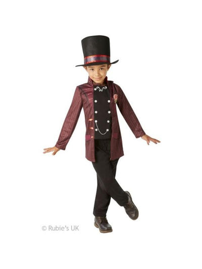 Willy Wonka Child Costume - Age 7-8-Costumes - Boys-Jokers Costume Hire and Sales Mega Store