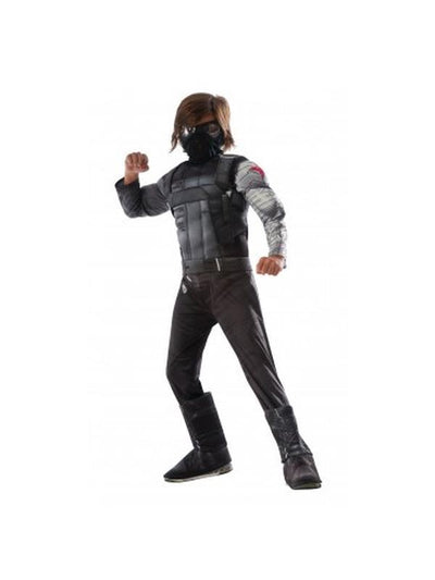 Winter Soldier Cw Deluxe Child - Size L-Costumes - Boys-Jokers Costume Hire and Sales Mega Store