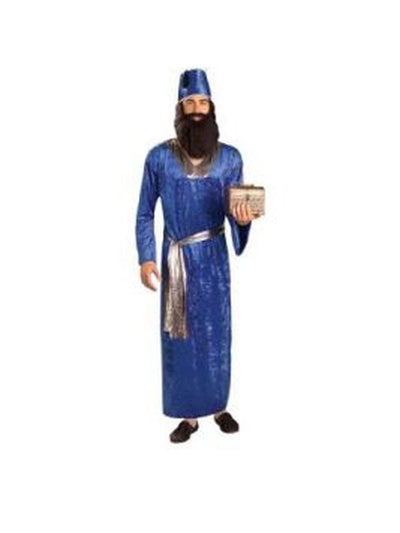 Wiseman Blue Costume - Size Std-Costumes - Mens-Jokers Costume Hire and Sales Mega Store