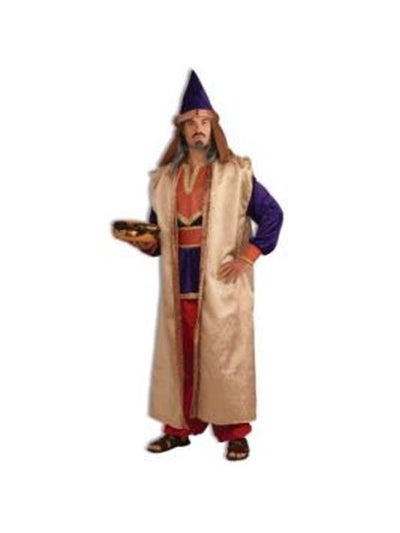 Wiseman Burgundy Costume - Size Std-Costumes - Mens-Jokers Costume Hire and Sales Mega Store