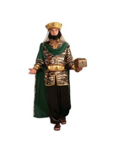 Wiseman Emerald Green Costume - Size Std-Costumes - Mens-Jokers Costume Hire and Sales Mega Store
