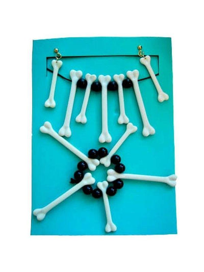 Witch Doctor Bone Jewellery Set-Costume Accessories-Jokers Costume Hire and Sales Mega Store