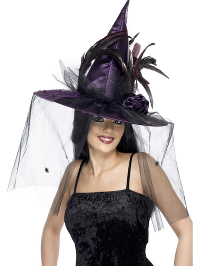 Witch Hat-Hats and Headwear-Jokers Costume Hire and Sales Mega Store