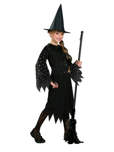 Witch - Size M-Costumes - Girls-Jokers Costume Mega Store