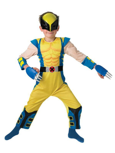 Wolverine Deluxe Child Costume - Size M-Costumes - Boys-Jokers Costume Hire and Sales Mega Store