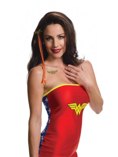 Wonder Woman Accessory Kit - Size Std-Costume Accessories-Jokers Costume Hire and Sales Mega Store