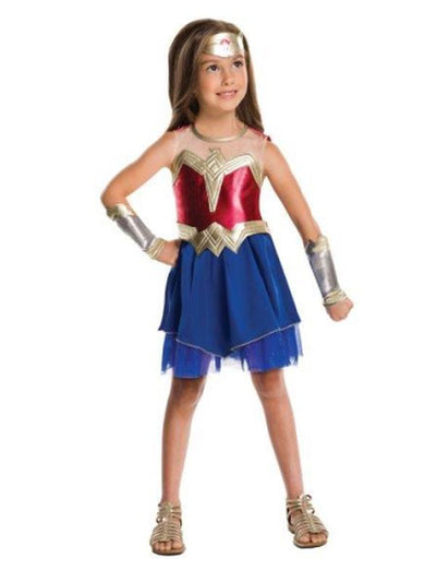 Wonder Woman Child - Size L-Costumes - Girls-Jokers Costume Hire and Sales Mega Store