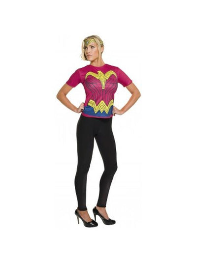 Wonder Woman Dawn Of Justice Top - Size L-Costumes - Women-Jokers Costume Hire and Sales Mega Store