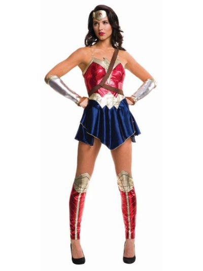 Wonder Woman Doj Adult - Size M-Costumes - Women-Jokers Costume Hire and Sales Mega Store